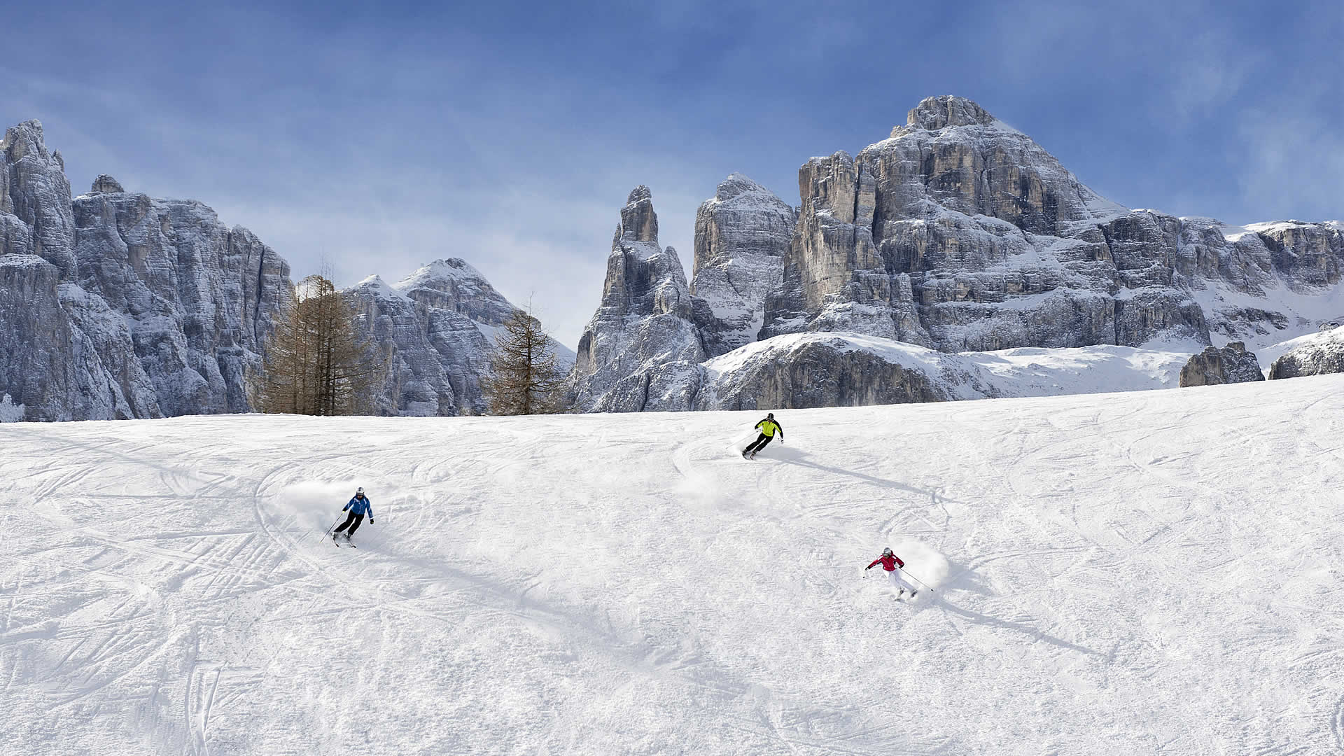Ski slopes Alta Badia