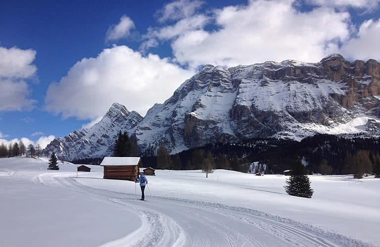 Cross country skiing La Val